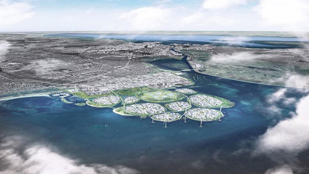 Đan Mạch xây 9 đảo nhân tạo ngoài khơi Copenhagen